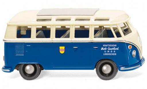 Volkswagen T1 1/87 Wiking Sambabus Mark Sauerland 1963 diecast model cars