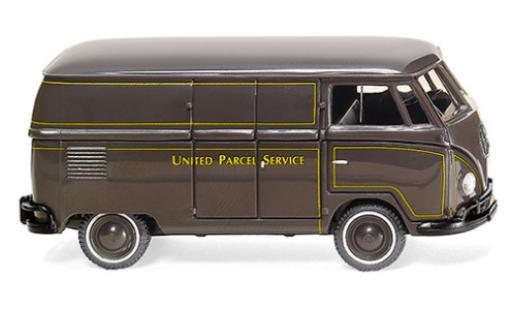 Volkswagen T1 1/87 Wiking (Typ 2) UPS 1950 fourgon miniature