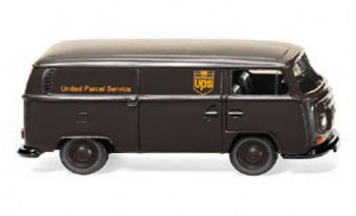 Volkswagen T2 1/87 Wiking Kastenwagen UPS 1967 diecast model cars