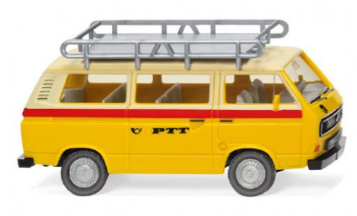 Volkswagen T3 1/87 Wiking Bus PTT 1979 miniature